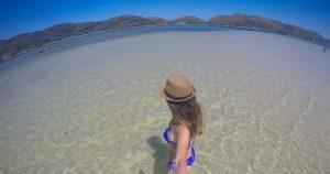Ilha do Japonês, um cantinho de água rasa e transparente em Cabo Frio