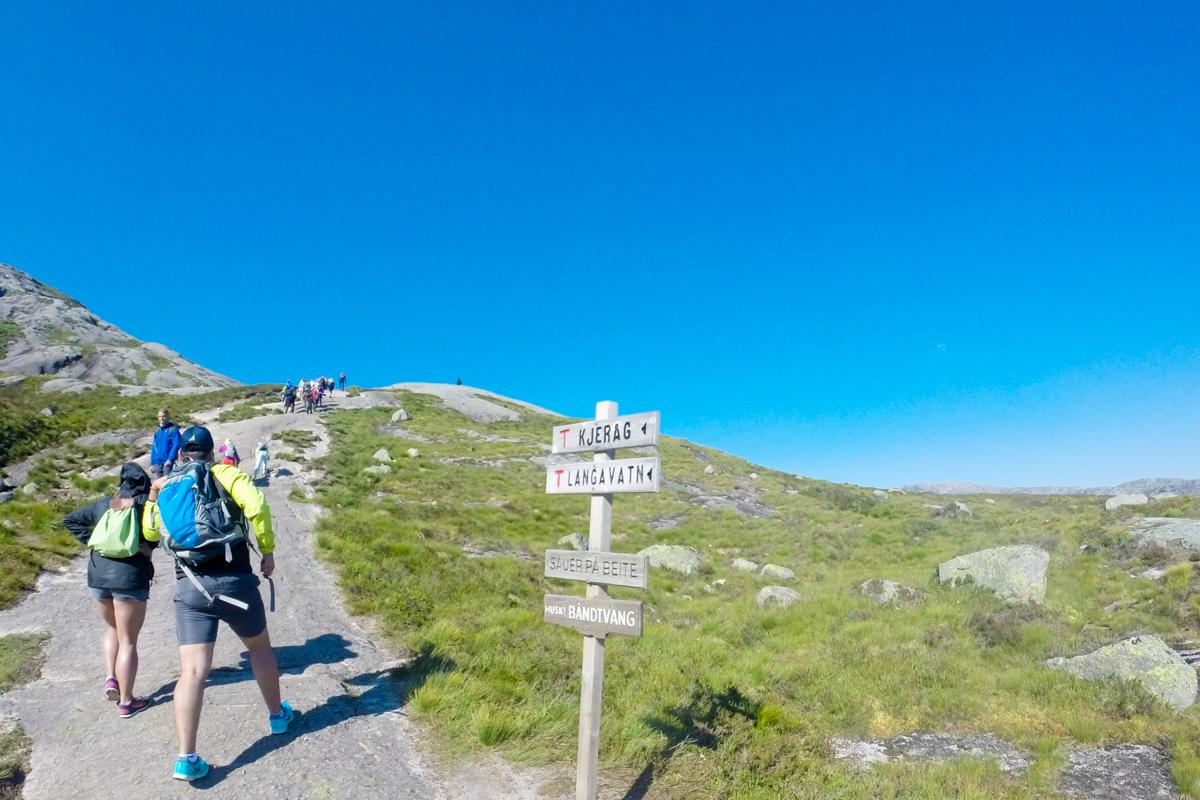Dificuldade Trilha Kjerag Noruega