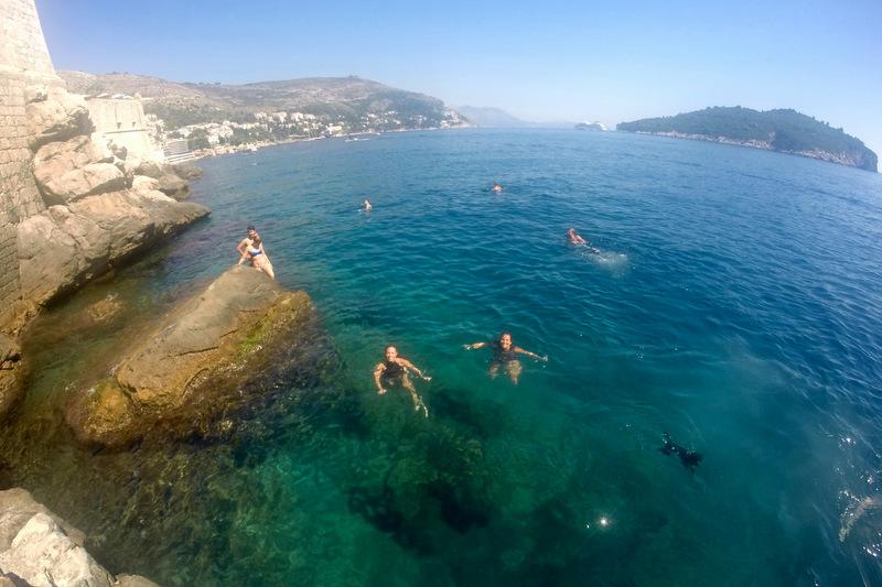 Mar Dubrovnik Croácia