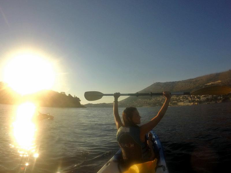 Passeio de kayak em Dubrovnik
