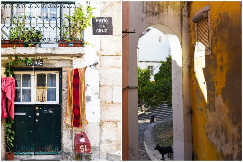 Portas e portais de Alfama