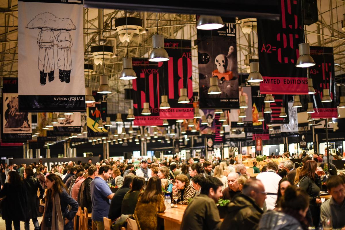 Jantar Mercado da Ribeira Lisboa