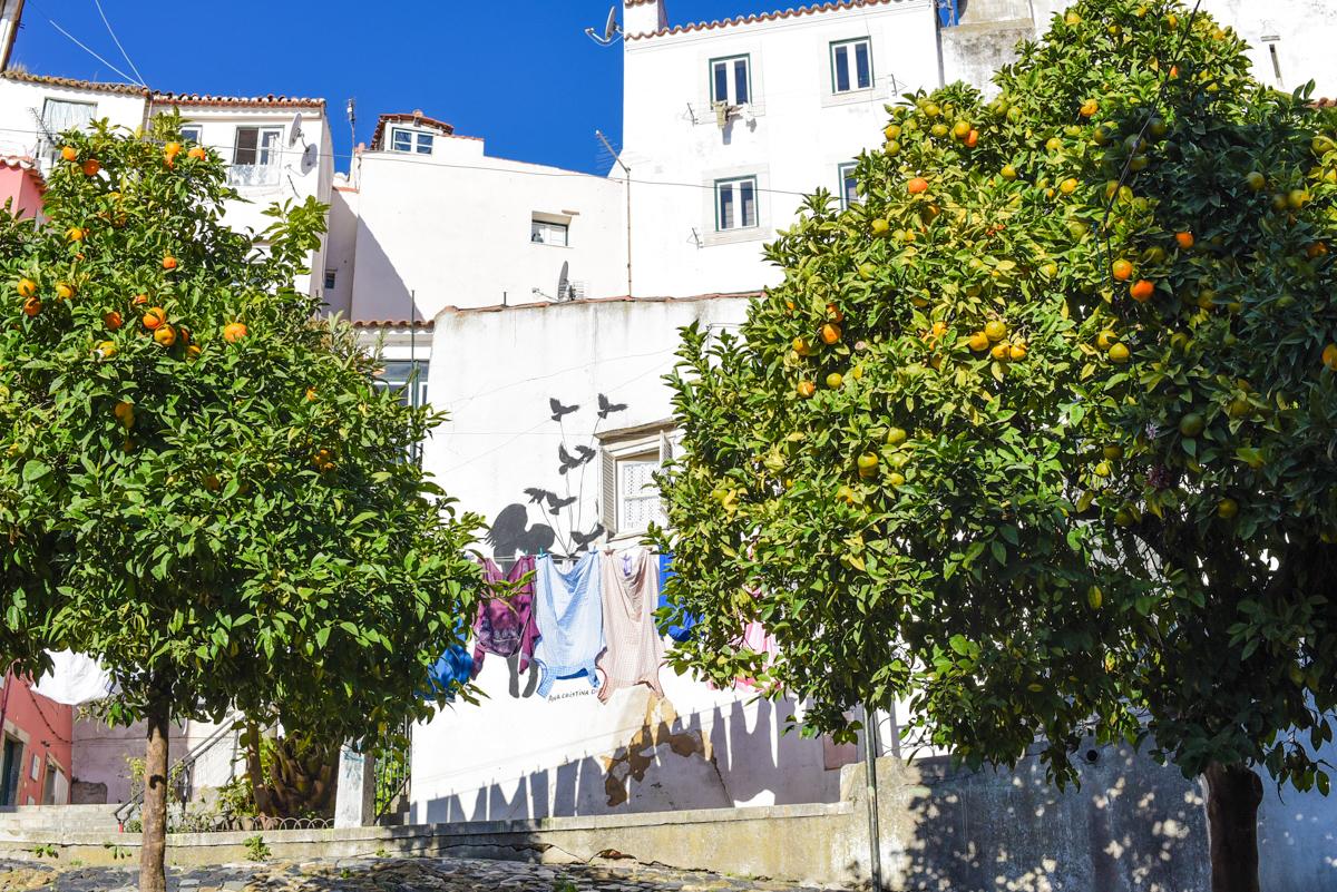 Ruas de Alfama, Lisboa