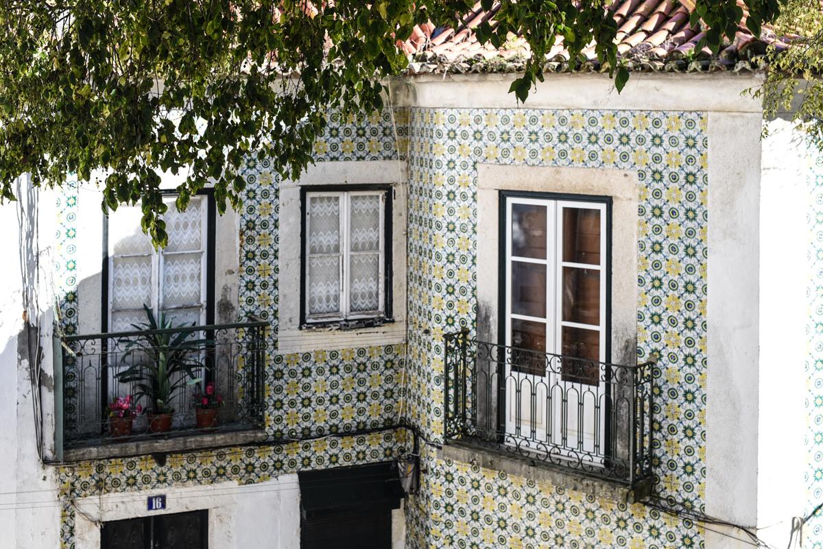 Casas com azulejo Lisboa