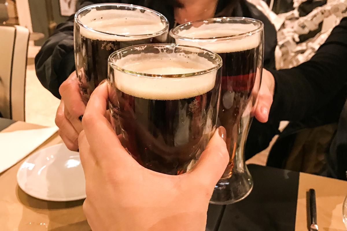 Para acompanhar, uma cerveja gelada