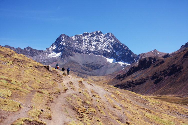 trilha da Montanha Colorida