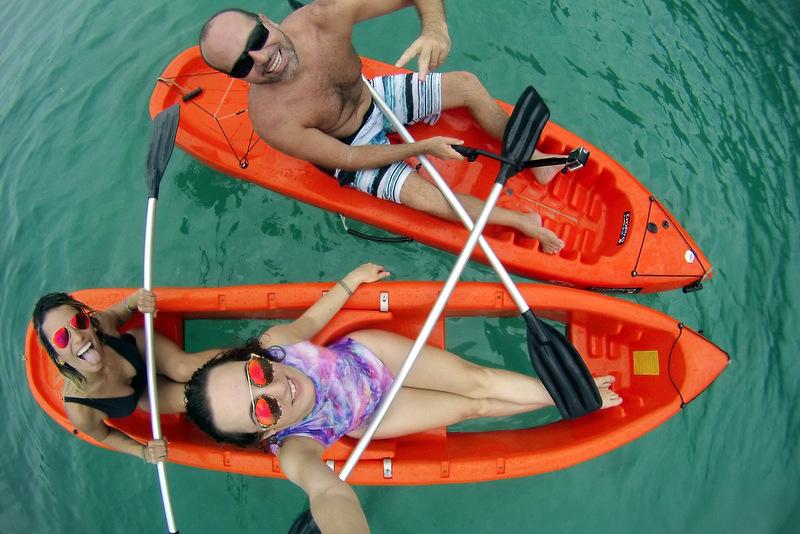 Passeio Kayak Canal da Barra