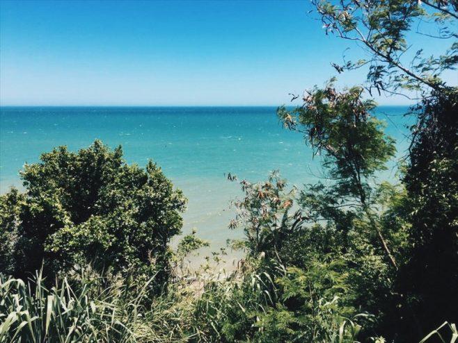 Praias de Iriri