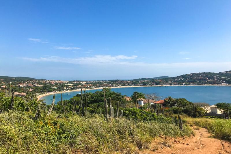 Praia da Ferradura vista de cima