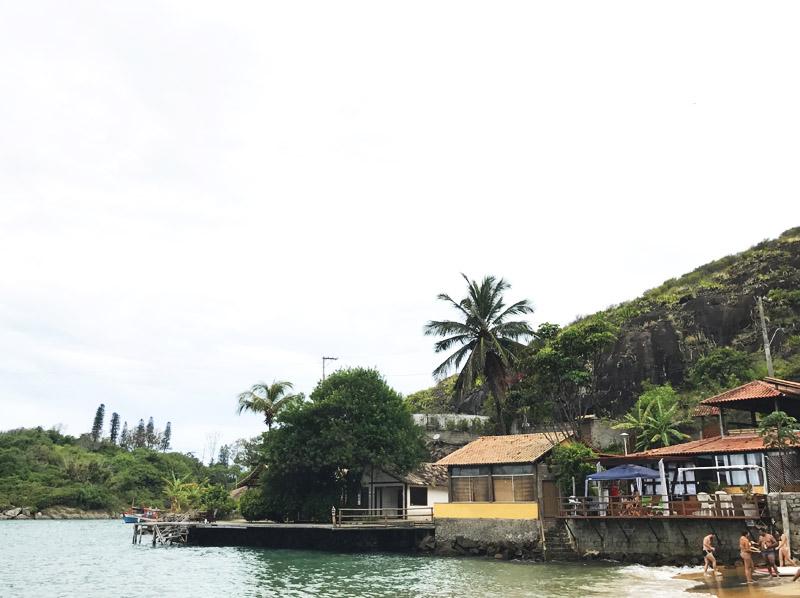 Praia do Bananal Morro do Moreno em Vila Velha