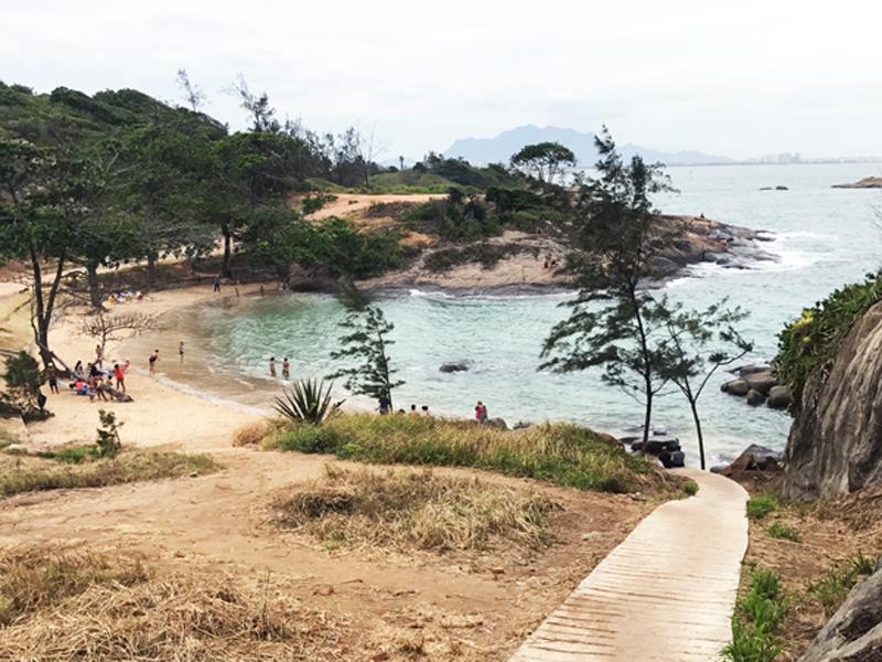 Praia Secreta em Vila Velha Espírito Santo