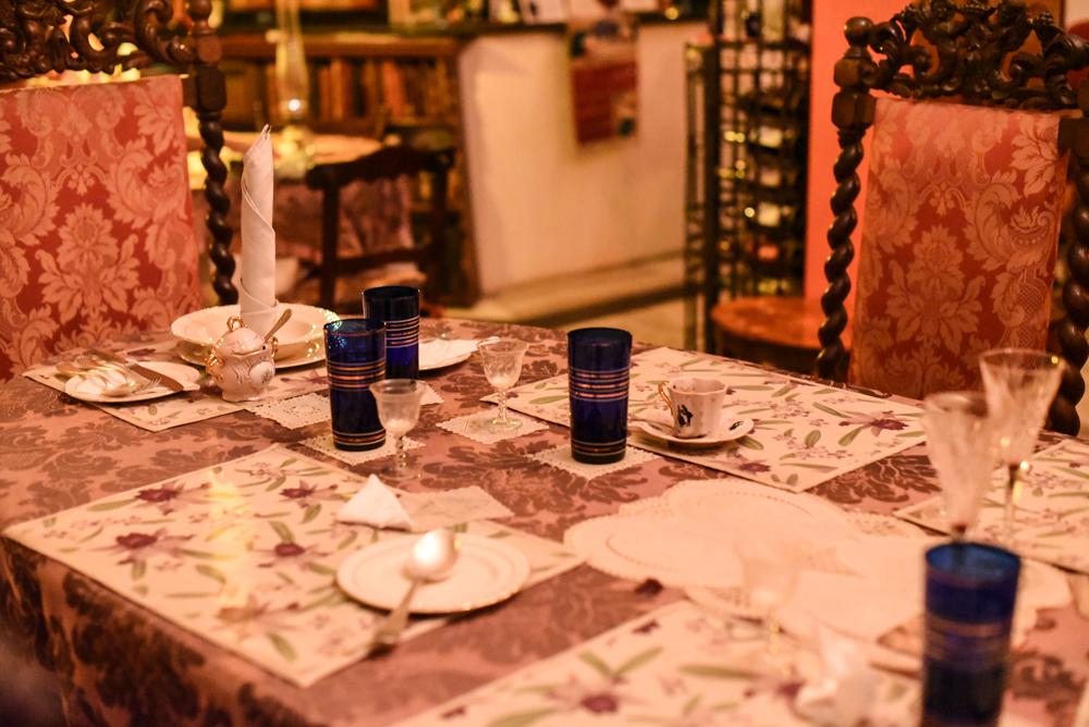 decoração restaurante baroque buzios