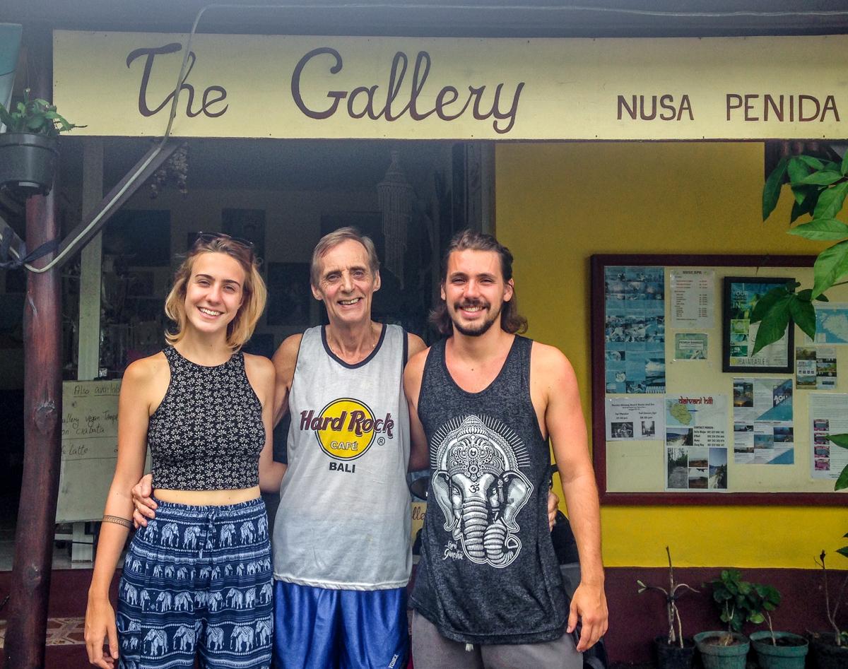 The gallery, Nusa Penida, Bali