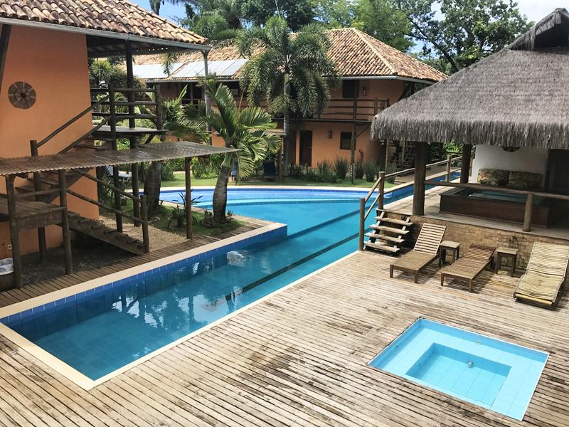 piscina pousada vila do dengo itacaré