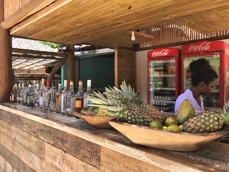 bar pousada vila do dengo itacaré na Bahia