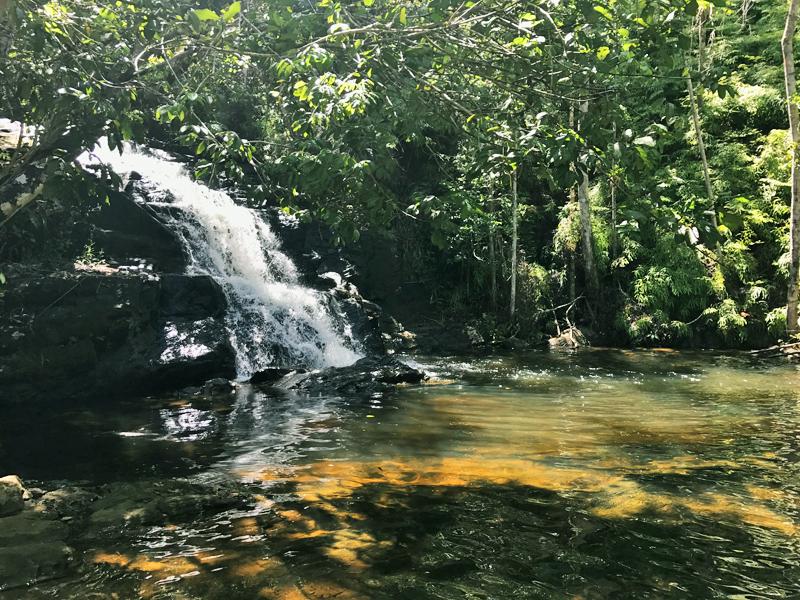 cachoeira do cleandro ou engenho itacaré bahia