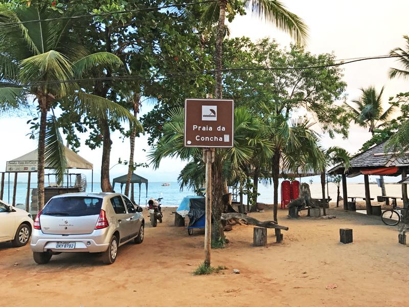 praia da concha itacaré, bahia
