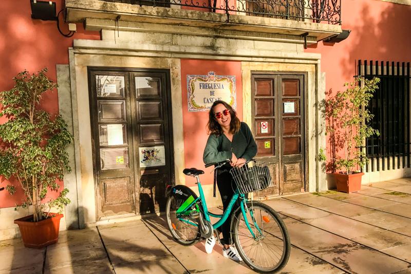 Passeio de bike, Cascais, Portugal