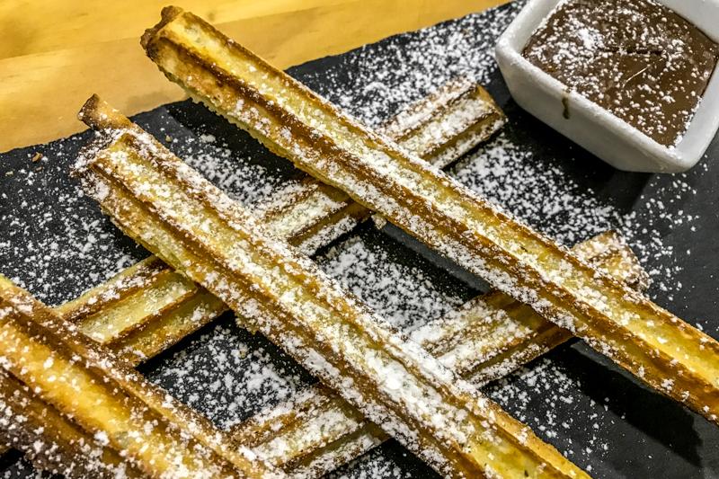 Churros de nutella, Cascais