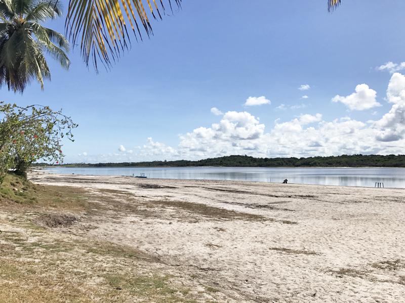 Lagoa do Cassange, Península de Maraú, Bahia