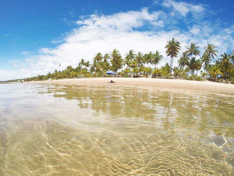 Piscinas naturais de Taipu de Fora, Península de Maraú, Bahia