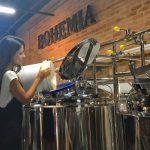 Mestres Cervejeiras por um dia na Cervejaria Bohemia