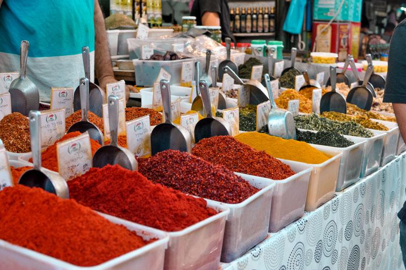 o que fazer israel mercado