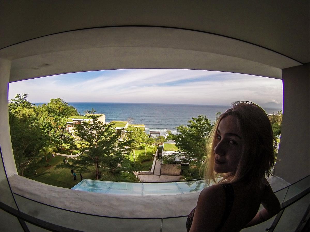 vista do quarto anantara uluwatu bali resort