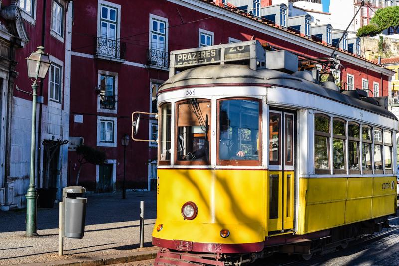 Elétrico 28, Lisboa, Portugal