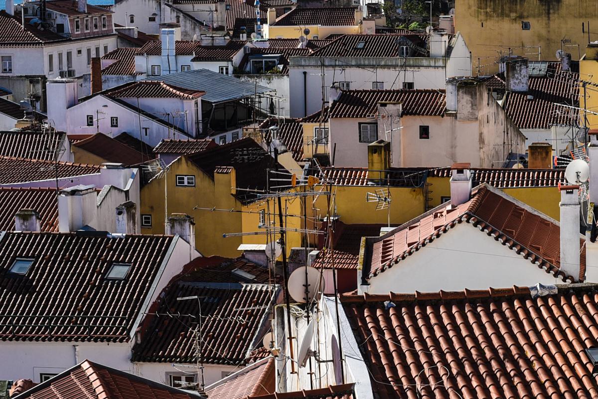 Bairro antigo Lisboa