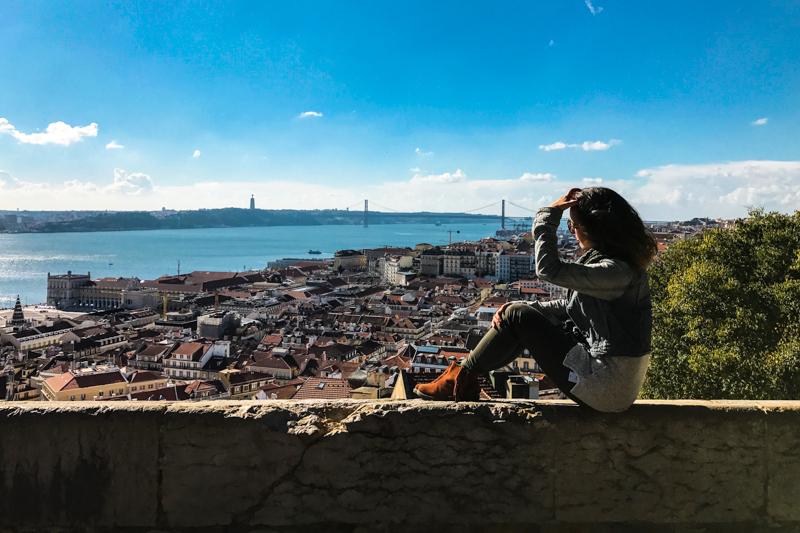 Vista em Lisboa