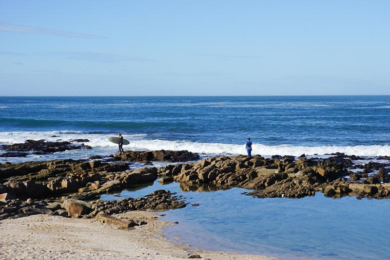Praia em Mossel Bay
