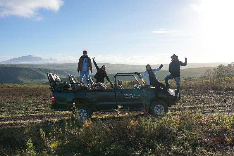Safari no Gondwana Game Reserve