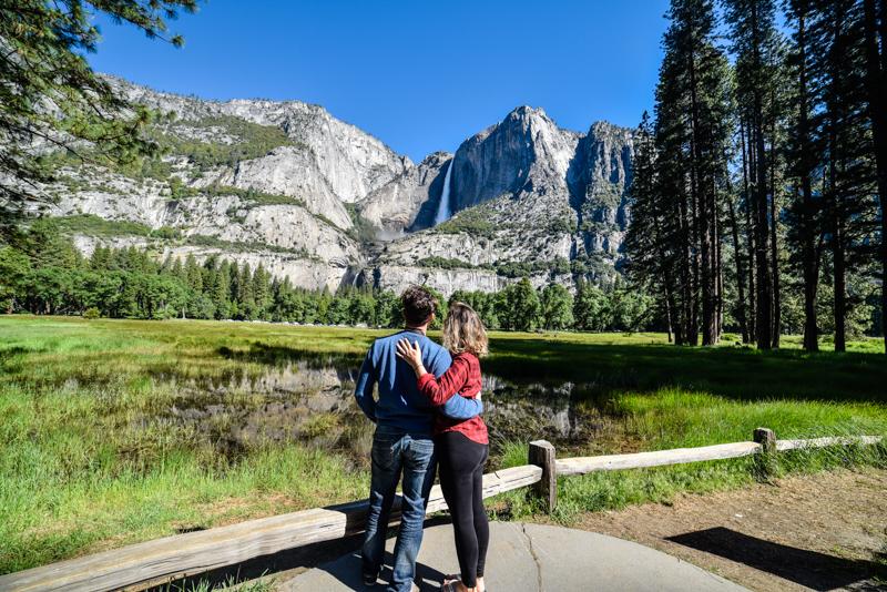 Melhores cachoeiras Yosemite