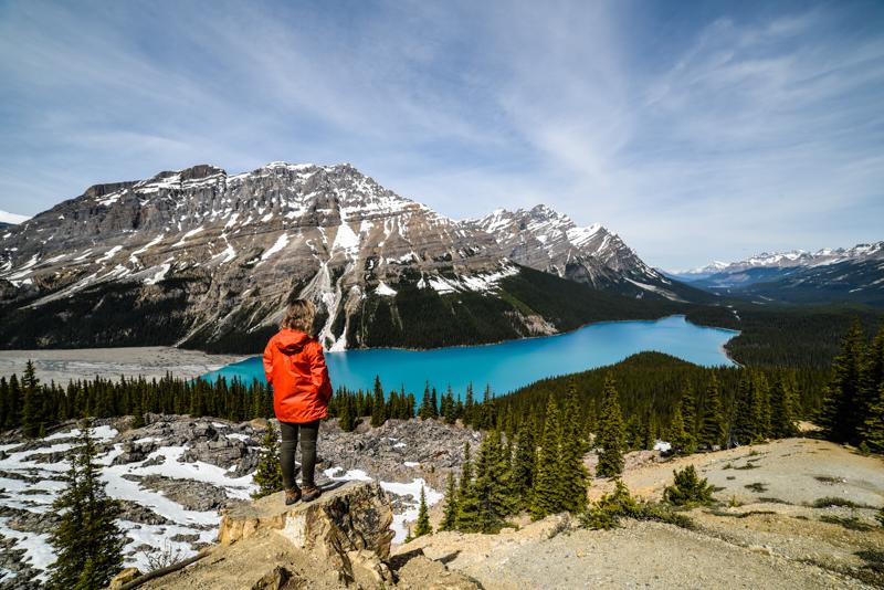 Peyto Lake, Canadá
