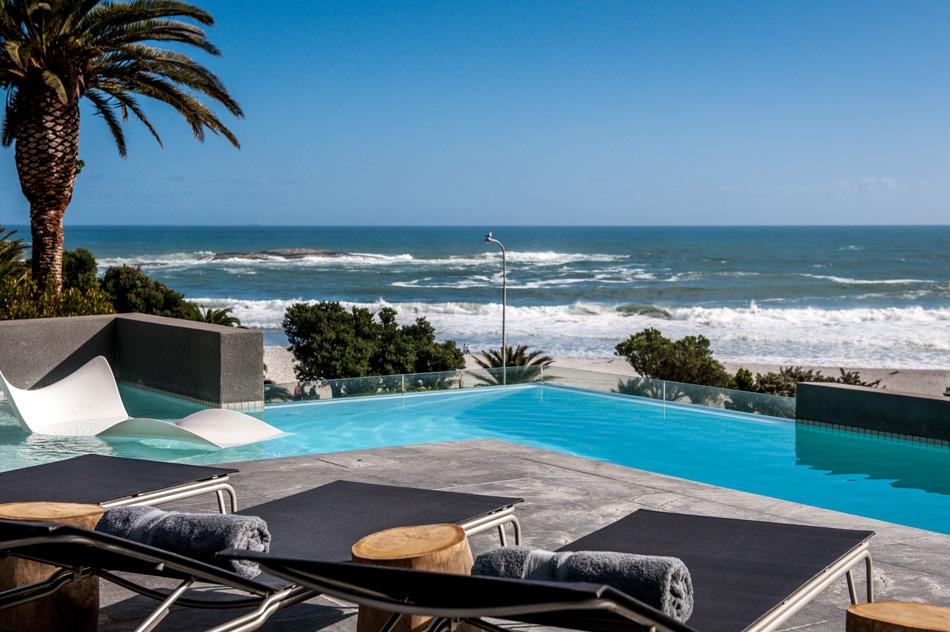 Piscina do POD Hotel em Cape Town