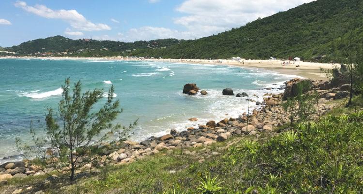 Praia do Rosa em Santa Catarina