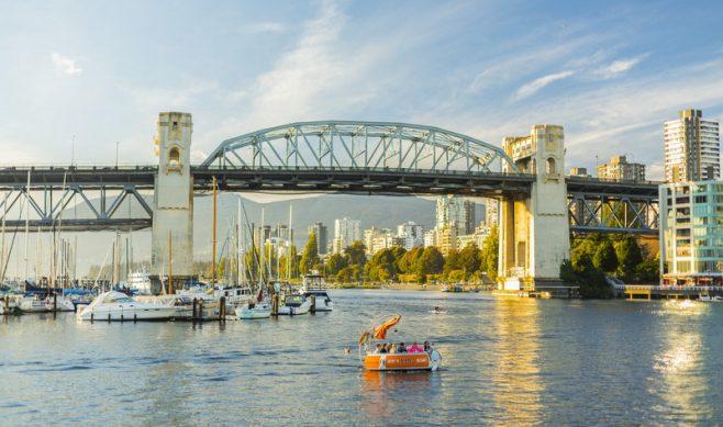 Burrard Street Bridge Vancouver