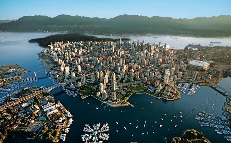Vancouver vista de cima