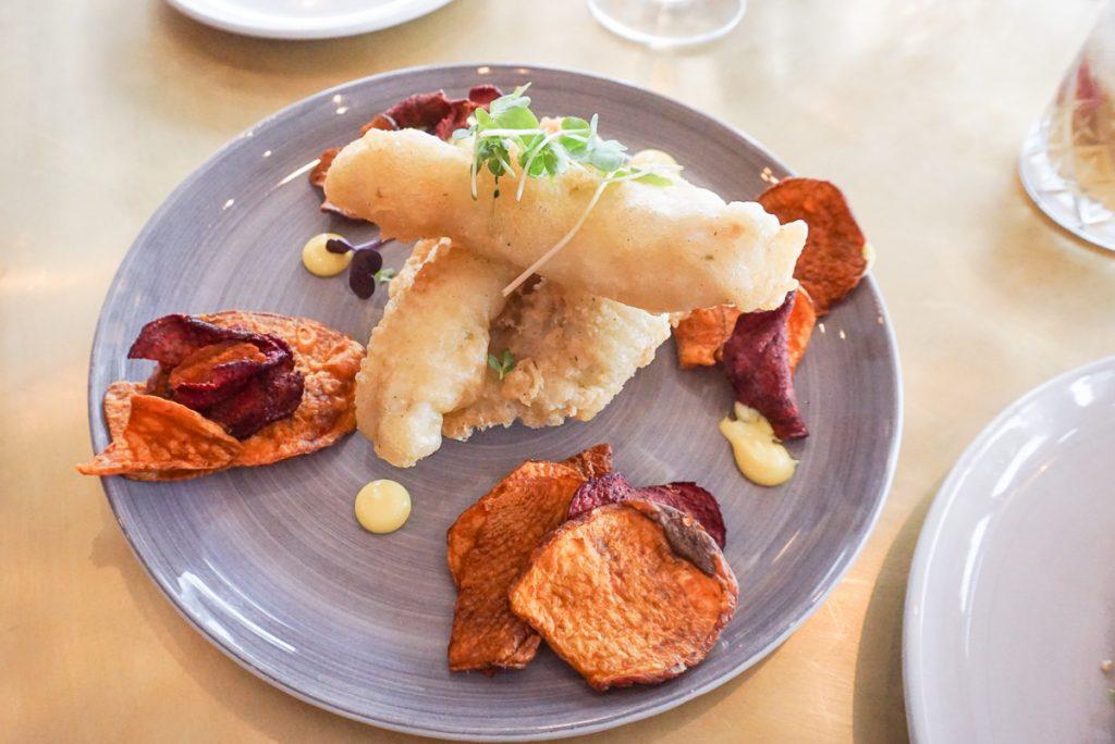 Refeição no Lily's Restaurant em Cape Town