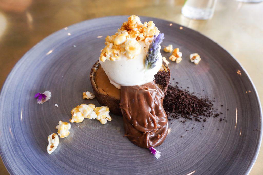 Sobremesa no Lily's Restaurant em Cape Town