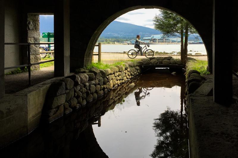 passeio de bicicleta vancouver