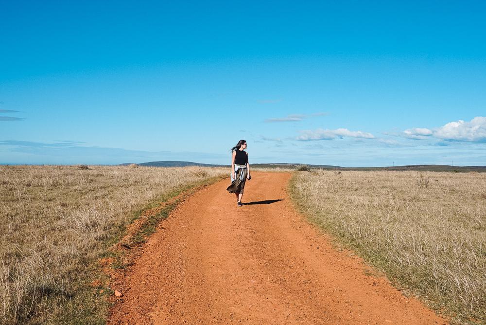 Estradas no Gondwana Game Reserve