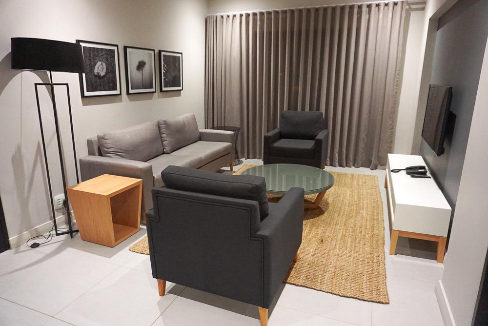 Sala do The Residency Jellicoe em Joanesburgo