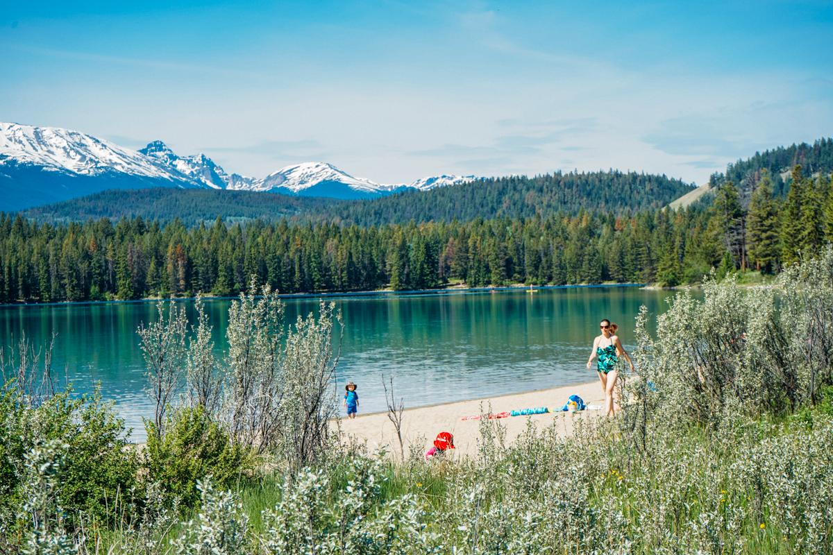 Anette Lake, Jasper