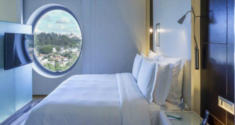 Como é se hospedar no estiloso Hotel Unique, em São Paulo