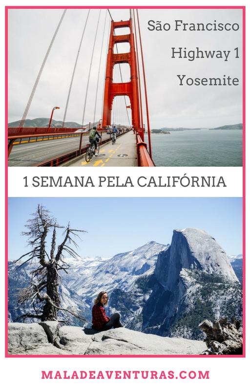 Roteiro pela Califórnia