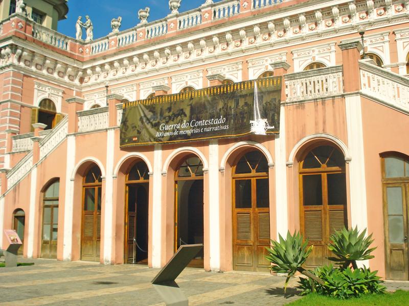 Fachada do Museu Histórico de Santa Catarina