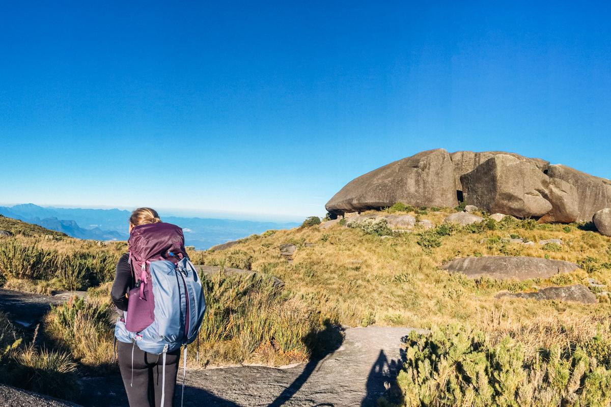mochilas femininas de trekking