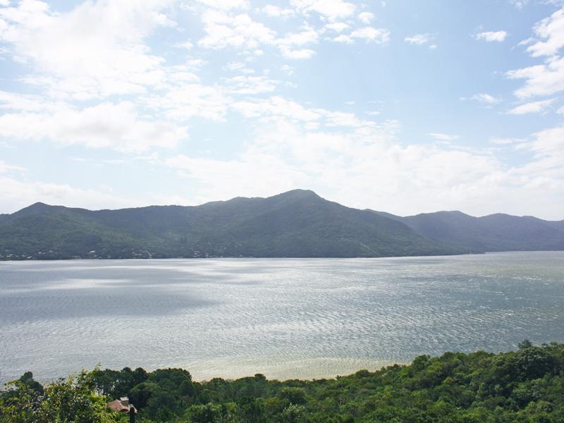 Vista do Mirante Ponto de Vista em Florianópolis